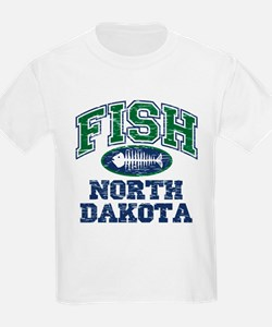 Fish North Dakota T-Shirt
