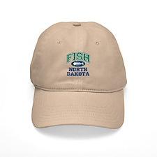 Fish North Dakota Baseball Cap
