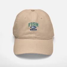 Fish Ohio Baseball Baseball Cap