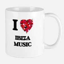 I Love My IBIZA MUSIC Mugs