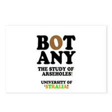 BOTANY - THE STUDY OF ARS Postcards (Package of 8)