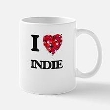 I Love My INDIE Mugs