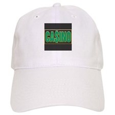 Green Casino Logo Baseball Cap
