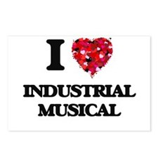 I Love My INDUSTRIAL MUSI Postcards (Package of 8)