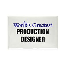 Worlds Greatest PRODUCTION DESIGNER Rectangle Magn