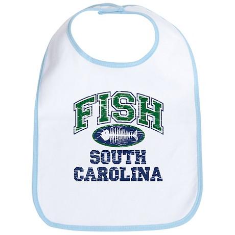 Fish South Carolina Bib