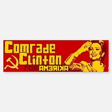 Comrade Clinton Bumper Bumper Bumper Sticker