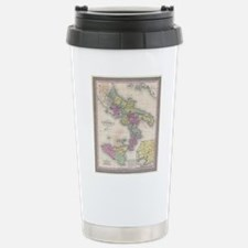 Vintage Map of Southern Stainless Steel Travel Mug