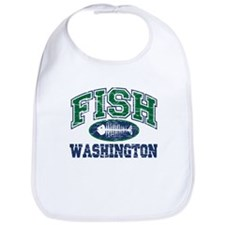 Fish Washington Bib