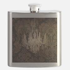 steampunk damask vintage chandelier Flask