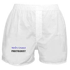 Worlds Greatest PROCTOLOGIST Boxer Shorts