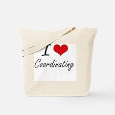 I love Coordinating Tote Bag