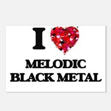 I Love My MELODIC BLACK M Postcards (Package of 8)