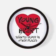Young at heart Wall Clock