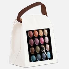 Eye Shadow Canvas Lunch Bag