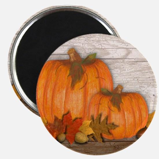 """Fall Pumpkins 2.25"""" Magnet (10 pack)"""