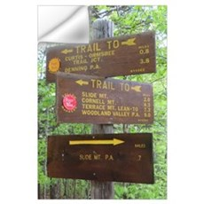 Catskill Trail Sign Wall Decal