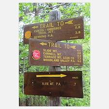 Catskill Trail Sign