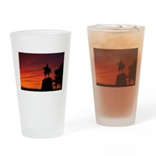 Meade Memorial - Gettysburg, PA Drinking Glass