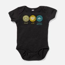 Cute Marine biology Baby Bodysuit