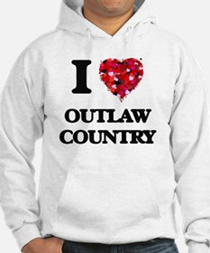 I Love My OUTLAW COUNTRY Hoodie