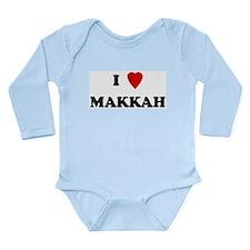Cool Heart design Long Sleeve Infant Bodysuit