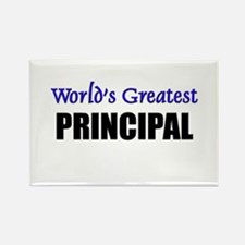 Worlds Greatest PRINCIPAL Rectangle Magnet
