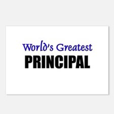 Worlds Greatest PRINCIPAL Postcards (Package of 8)