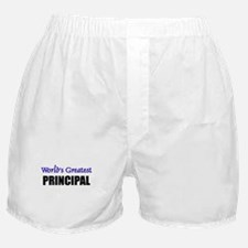 Worlds Greatest PRINCIPAL Boxer Shorts