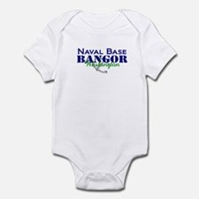 Naval Base Bangor Blue_Green Infant Bodysuit