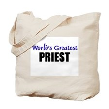 Worlds Greatest PRIEST Tote Bag