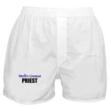 Worlds Greatest PRIEST Boxer Shorts