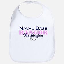 Naval Base Bangor - Pink_Blue Bib