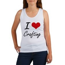 I love Crafting Tank Top