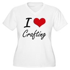 I love Crafting Plus Size T-Shirt