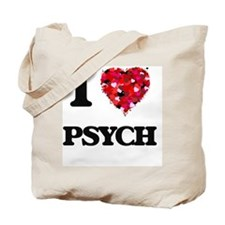 I Love My PSYCH Tote Bag
