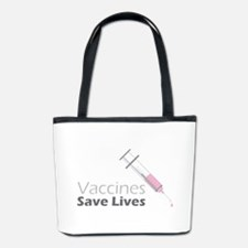 Vaccines Save Lives Bucket Bag
