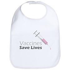Vaccines Save Lives Bib