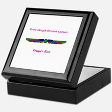 Every thought becomes a prayer (Keepsake Box)
