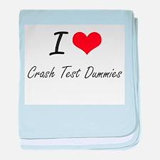 I love Crash Test Dummies baby blanket