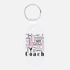 Cute Team Aluminum Oval Keychain