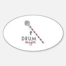 Drum Major Decal