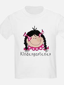 Kindergarten Girl (Black) T-Shirt