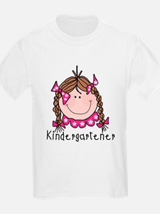 Kindergarten Girl (brown) T-Shirt