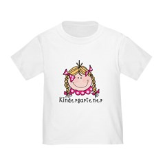 Kindergarten Girl (blond) T