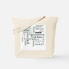 Unique Football fan Tote Bag
