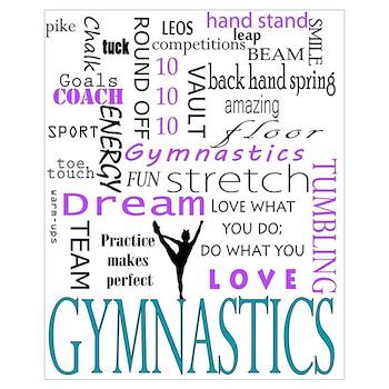 Gymnastics Wall Art gymnastics canvas art | wrapped/stretching canvas wall art prints