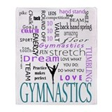 Gymnastics Fleece Blankets