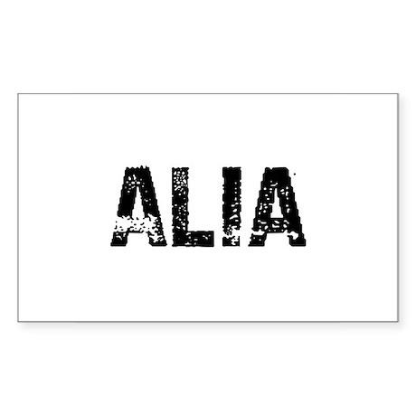 Alia Rectangle Sticker