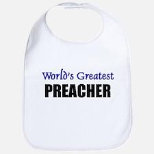 Worlds Greatest PREACHER Bib